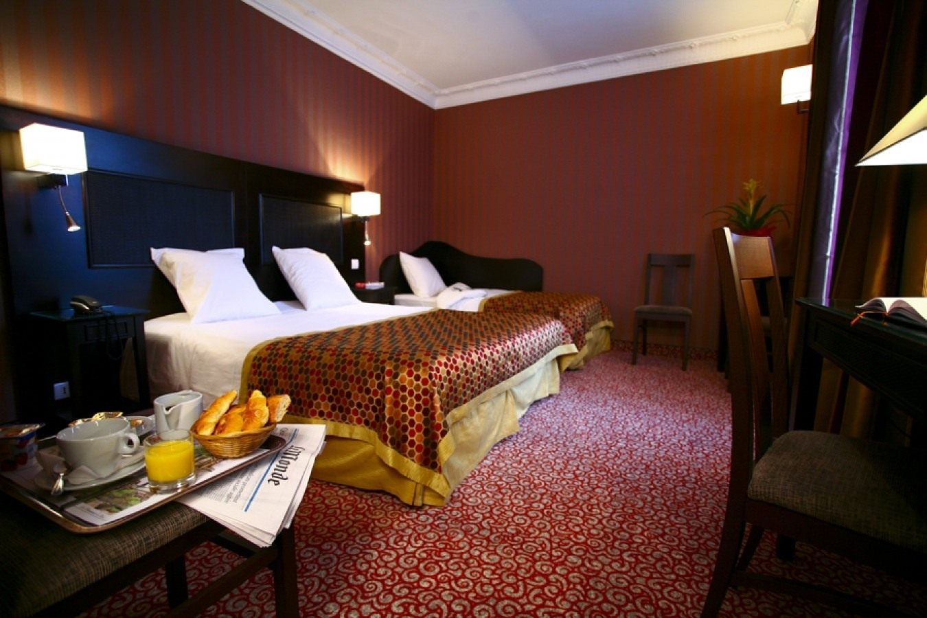 Hotel Convention Montparnasse - Rooms
