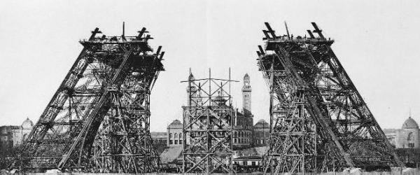 Once upon a time... the Eiffel Tower